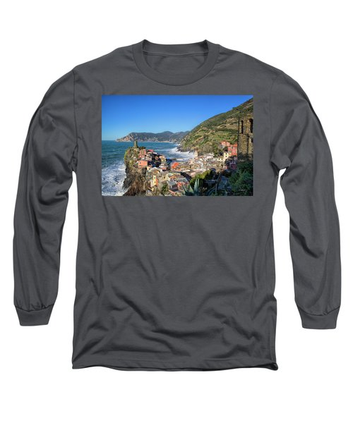 Vernazza In Cinque Terre Long Sleeve T-Shirt