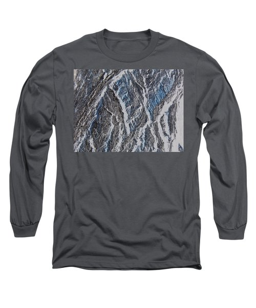 Long Sleeve T-Shirt featuring the photograph Vertical Climb by Lenore Senior