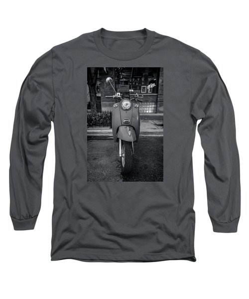 Long Sleeve T-Shirt featuring the photograph Vespa by Sebastian Musial