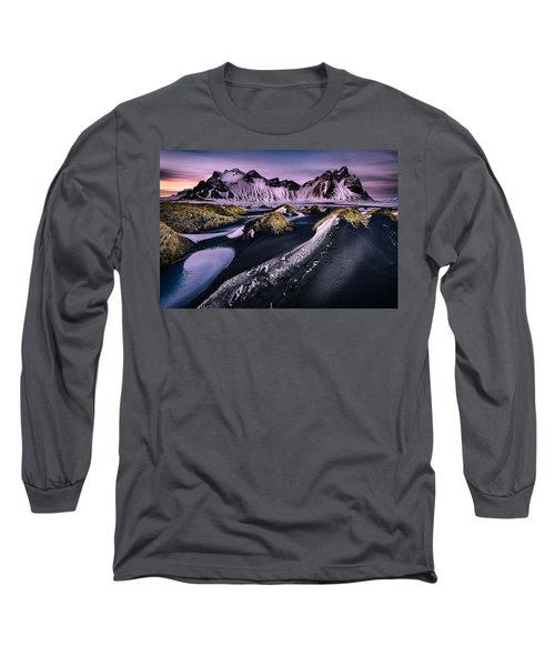 Vestrahorn, South Iceland Long Sleeve T-Shirt