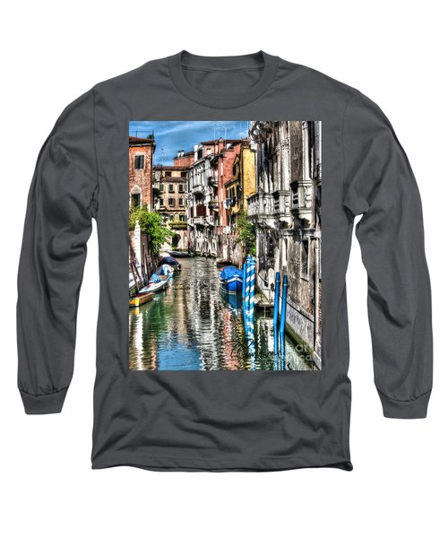 Long Sleeve T-Shirt featuring the photograph Viale Di Venezia by Tom Cameron