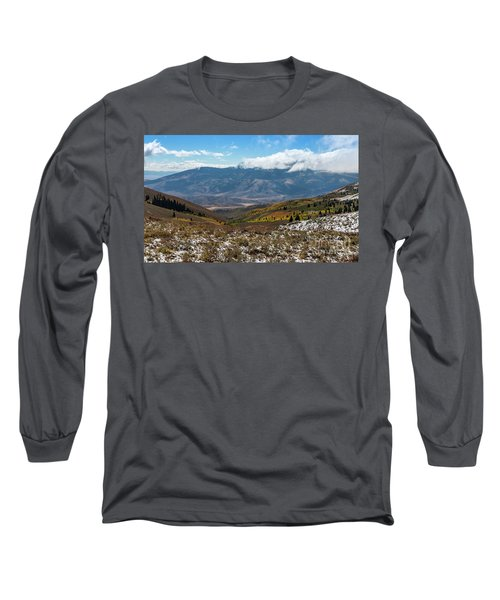 Vibrance Of The Storm Idaho Landscape Art By Kaylyn Franks Long Sleeve T-Shirt