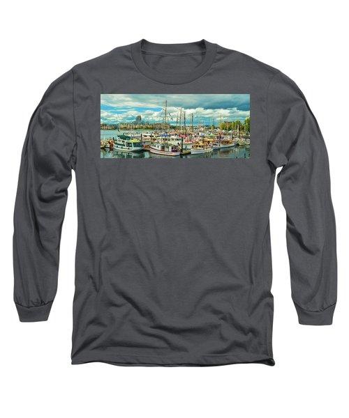 Victoria Harbor 1 Long Sleeve T-Shirt