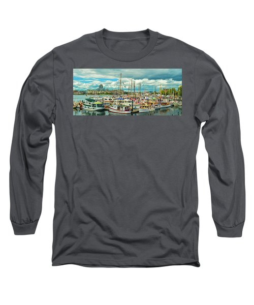 Victoria Harbor 1 Long Sleeve T-Shirt