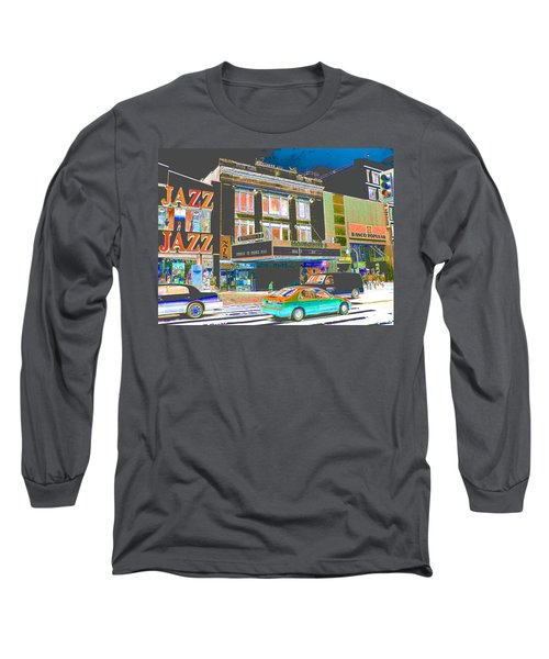 Victoria Theater 125th St Nyc Long Sleeve T-Shirt