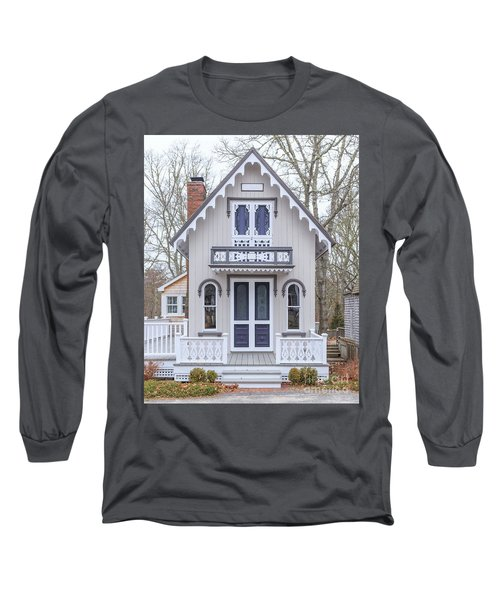 Victorian Cottage On Cape Cod Long Sleeve T-Shirt