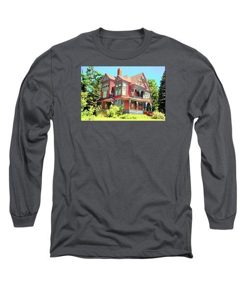 Victorian Long Sleeve T-Shirt by John Schneider