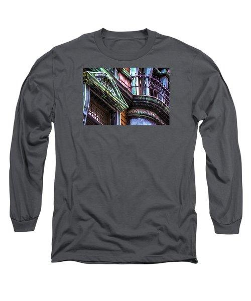 Victorian On Rush V2 Long Sleeve T-Shirt by Raymond Kunst