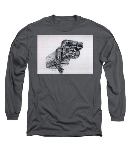 Video Camera, Vintage Long Sleeve T-Shirt