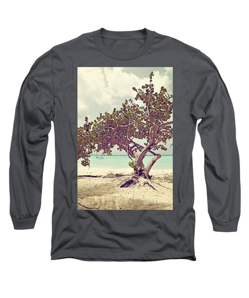 View At The Ocean With Boats In The Water Long Sleeve T-Shirt