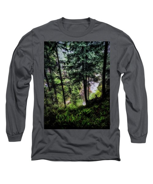 Long Sleeve T-Shirt featuring the photograph View Downhill by Joseph Hollingsworth