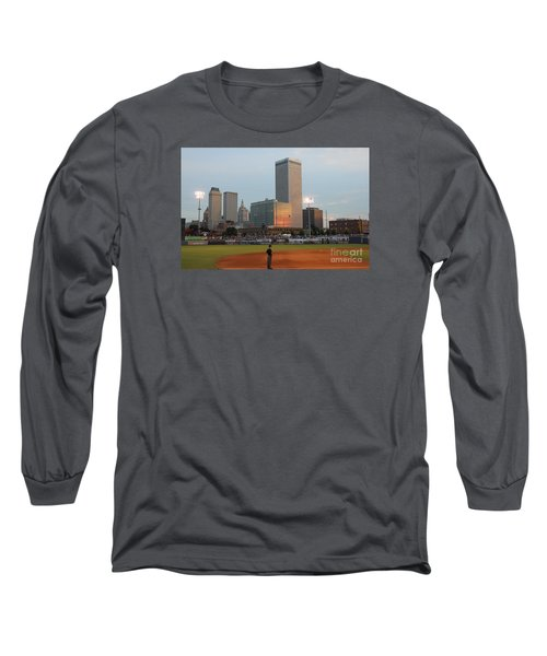 View From 3rd Base 2 Long Sleeve T-Shirt