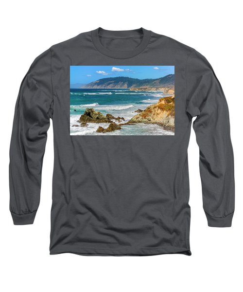 View From Abalone Point Long Sleeve T-Shirt