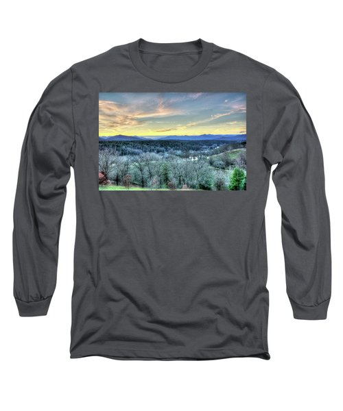 Long Sleeve T-Shirt featuring the photograph View From Biltmore by Wade Brooks