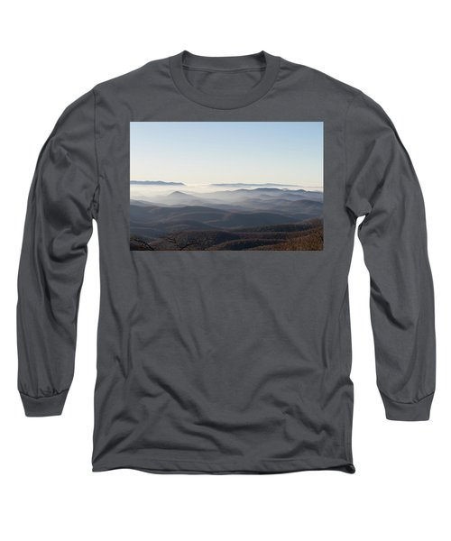 View From Blood Mountain Long Sleeve T-Shirt
