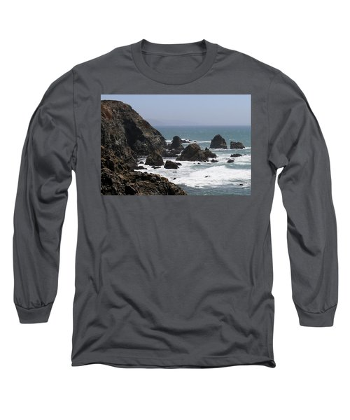 View From Bodega Head In Bodega Bay Ca - 4 Long Sleeve T-Shirt