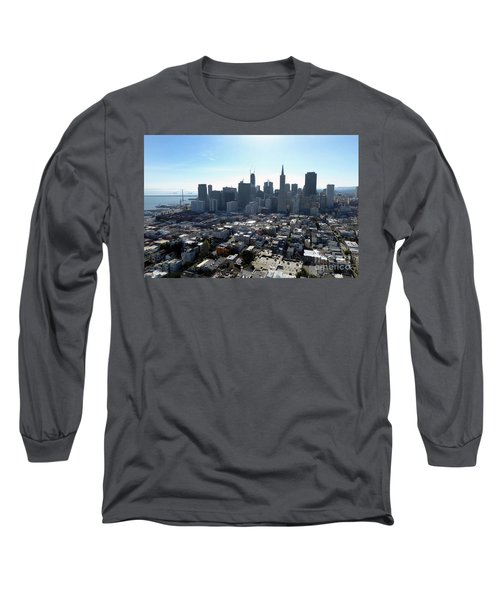 View From Coit Tower Long Sleeve T-Shirt