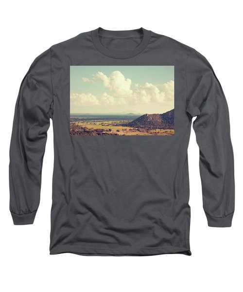 View From Mihintale Long Sleeve T-Shirt by Joseph Westrupp