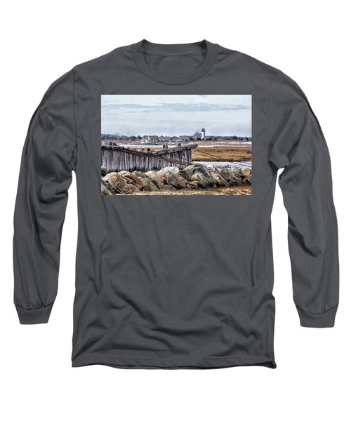 View From Mill Creek - Cold Long Sleeve T-Shirt by Constantine Gregory