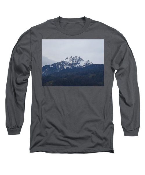 View From My Art Studio - Pilatus - March 2018 Long Sleeve T-Shirt