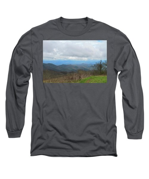 View From Silers Bald 2015d Long Sleeve T-Shirt