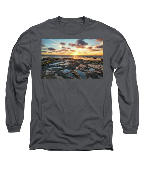 View From The Reef Long Sleeve T-Shirt by Joseph S Giacalone