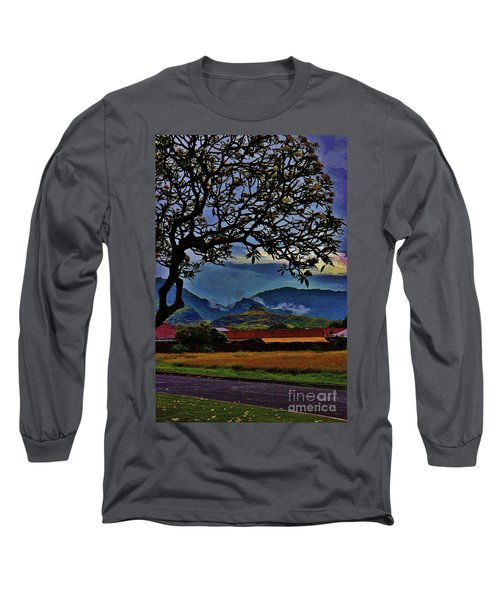 View From The School Yard Long Sleeve T-Shirt