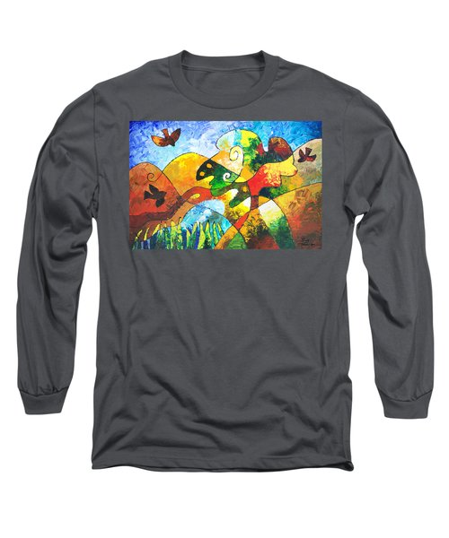View From Valley Road Long Sleeve T-Shirt