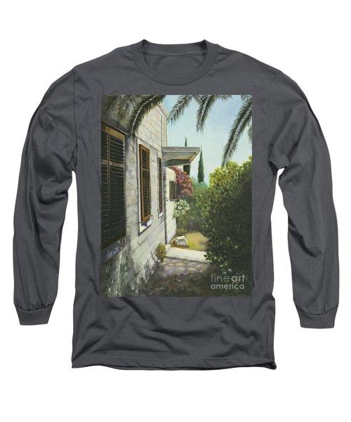 View In A Croatian Garden Long Sleeve T-Shirt