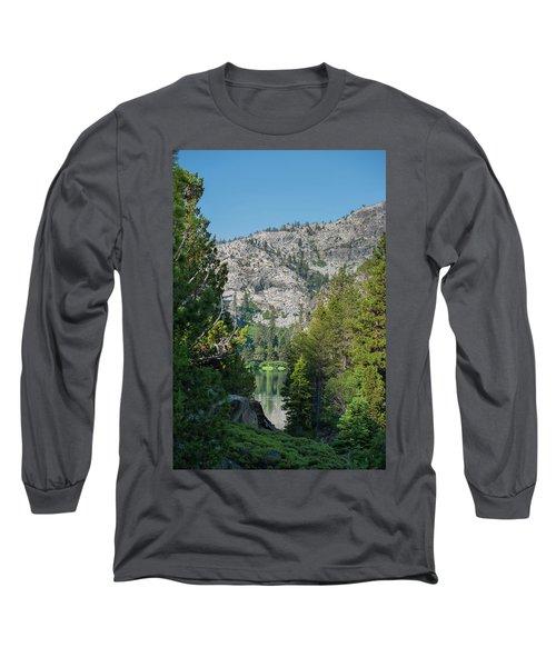 View Of Eagle Lake Long Sleeve T-Shirt