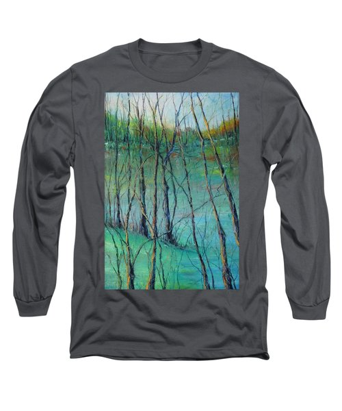 View Of Nature's Canvas Long Sleeve T-Shirt by Robin Miller-Bookhout