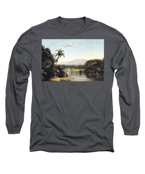 View On The Magdalena River Long Sleeve T-Shirt