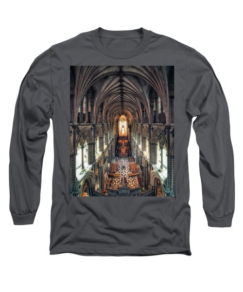 View Through Ely Cathedral Long Sleeve T-Shirt