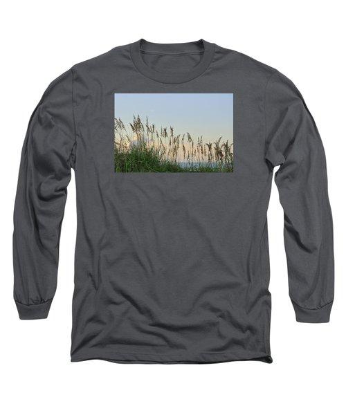 View Through The Sea Oats Long Sleeve T-Shirt