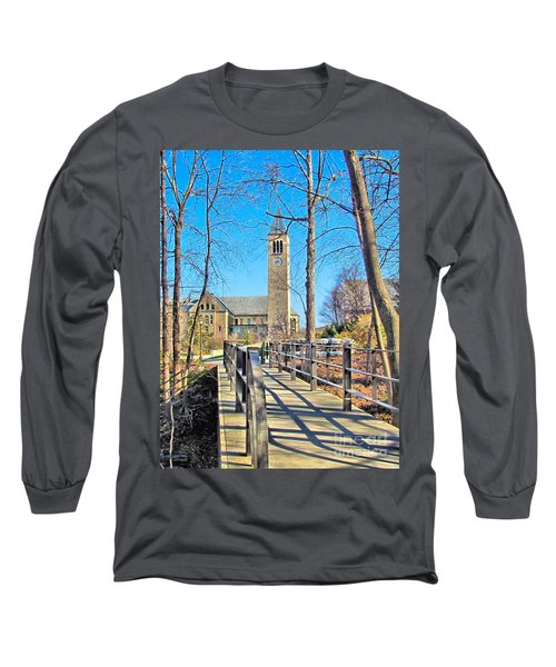 View To Mcgraw Tower Long Sleeve T-Shirt
