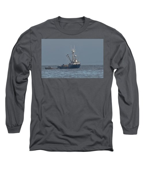 Viking Fisher 1 Long Sleeve T-Shirt by Randy Hall