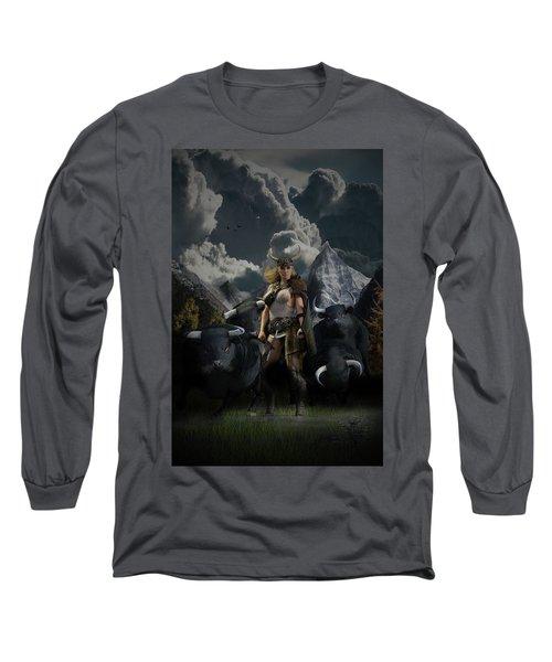 Viking Gefjon Long Sleeve T-Shirt