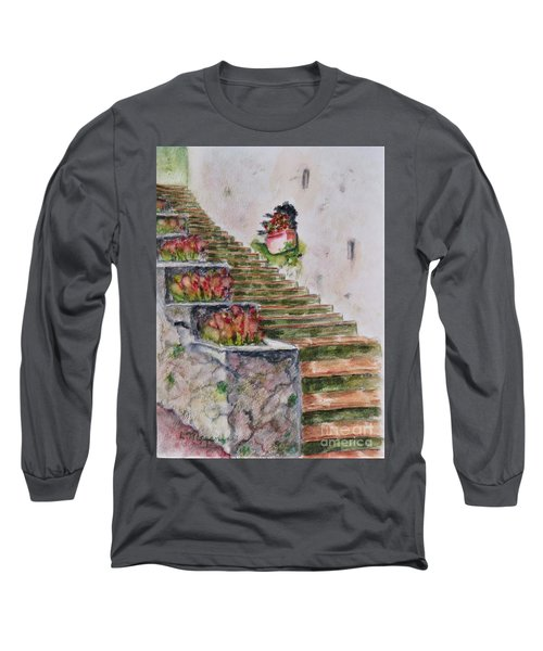 Villa Rufolo Long Sleeve T-Shirt