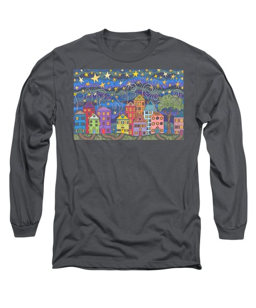 Village Lights Long Sleeve T-Shirt