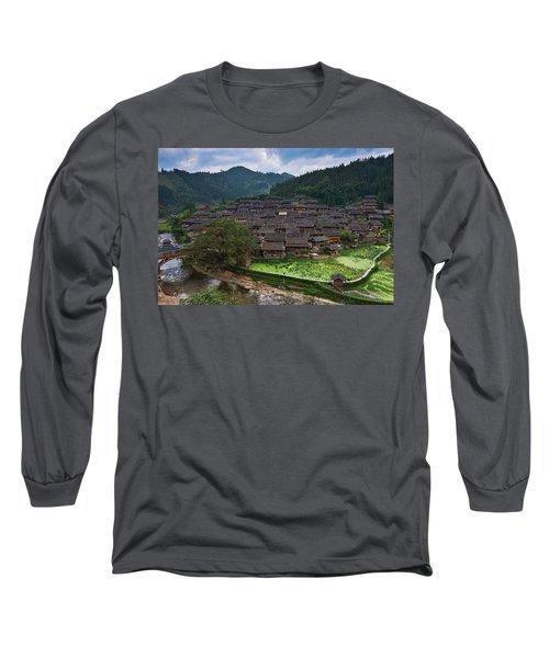 Village Of Joy Long Sleeve T-Shirt