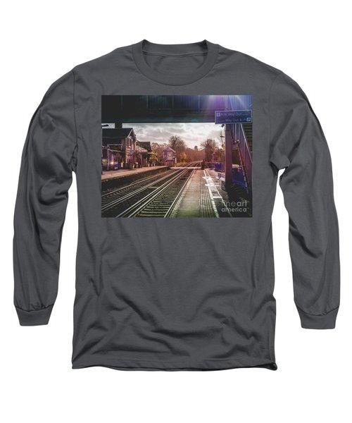 The Village Train Station Long Sleeve T-Shirt