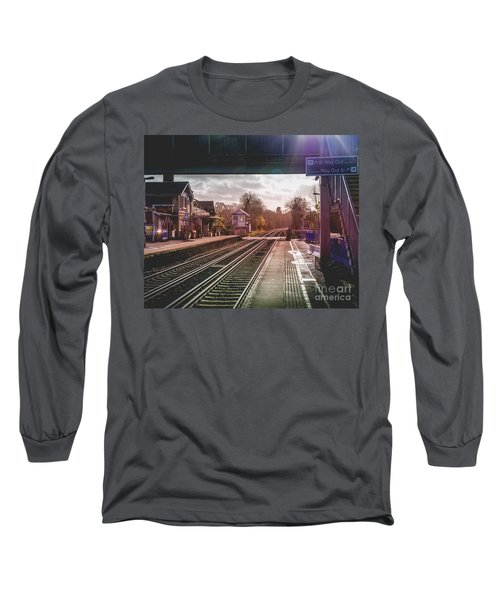 The Village Train Station Long Sleeve T-Shirt