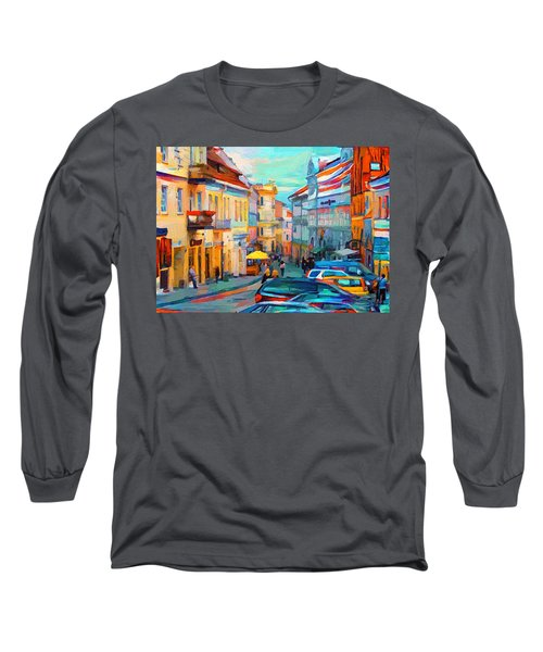 Vilnius At Paint Long Sleeve T-Shirt