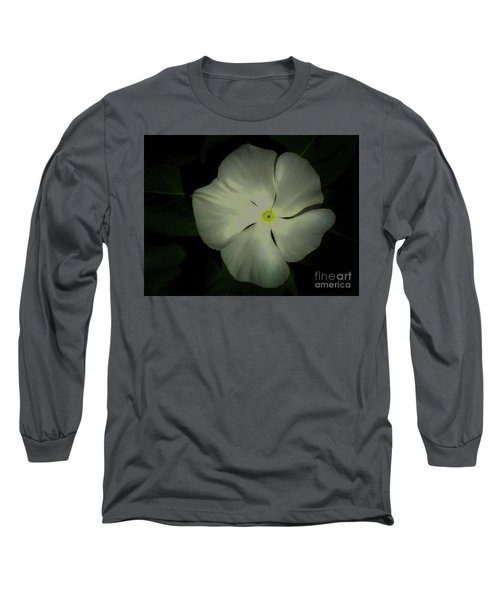 Vinca Bloom Night Glow Long Sleeve T-Shirt