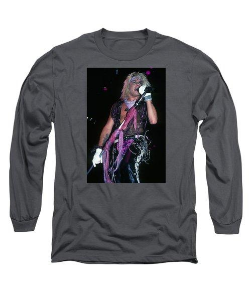 Vince Neil Of Motley Crue Long Sleeve T-Shirt