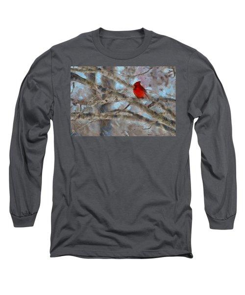 Vincent Long Sleeve T-Shirt by Trish Tritz