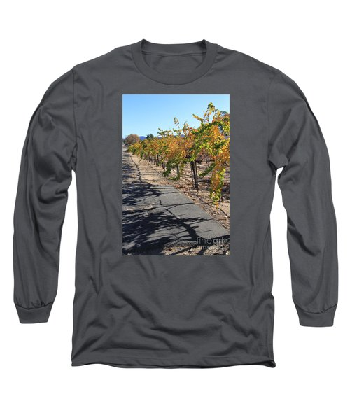 Vineyard Shadows Long Sleeve T-Shirt