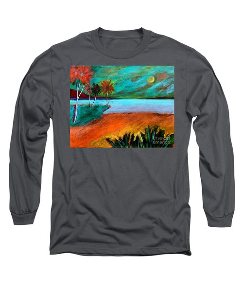 Vinoy Park Twilight Long Sleeve T-Shirt by Elizabeth Fontaine-Barr