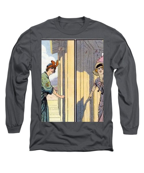 Vintage Art, Glamour Image Long Sleeve T-Shirt