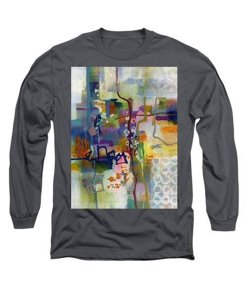 Long Sleeve T-Shirt featuring the painting Vintage Atelier 2 by Hailey E Herrera